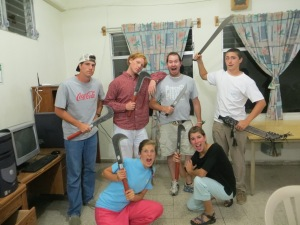 Not sure why, but machetes are always so popular for our teams. Need some yard work help? Si!